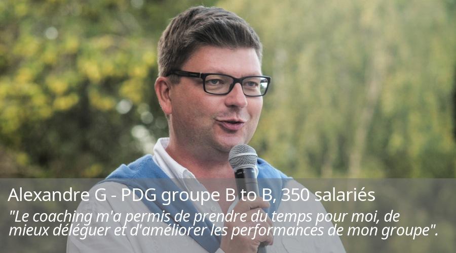 alexandre G pdg groupe B to B