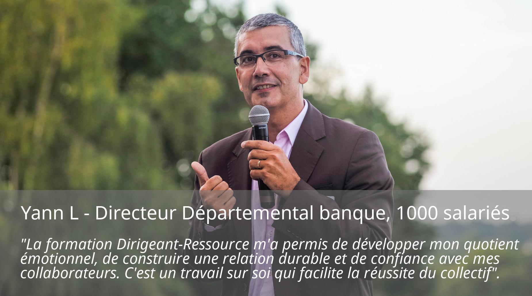 Yann L directeur départemental banque
