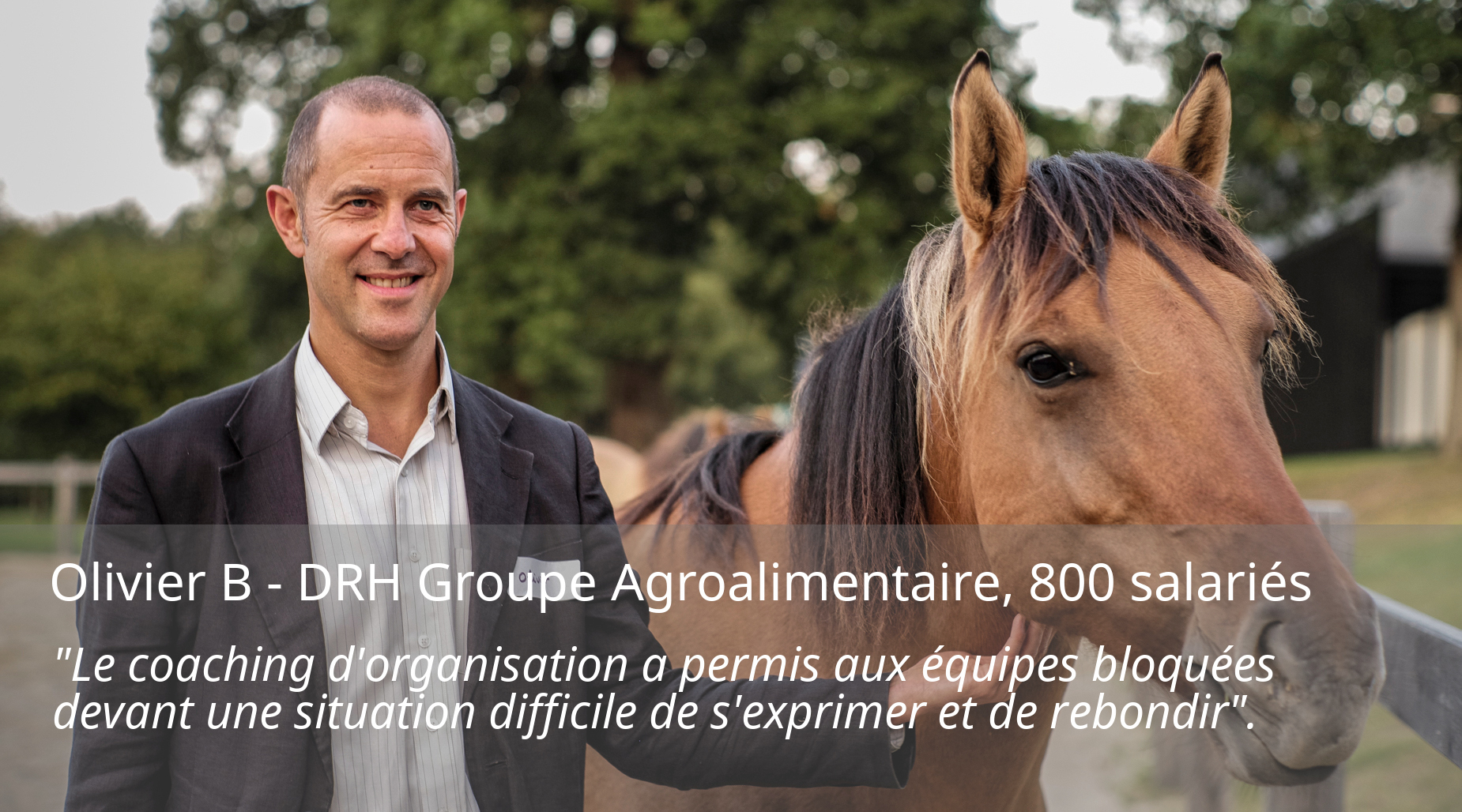 Olivier B DRH groupe agroalimentaire